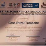 certificado reserva de la biosfera casa tamasite